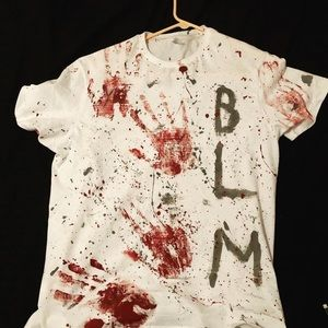 """Other - Custom Paint TShirt """"Red Handed"""""""